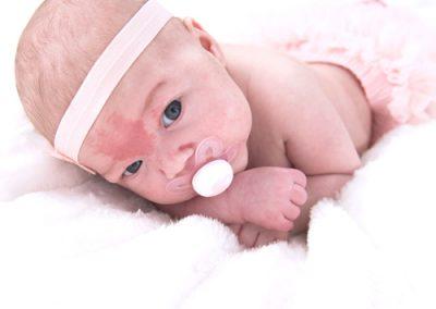 Shooting newborn Lucile